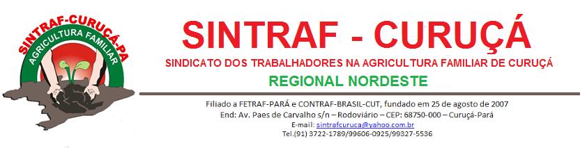 SINTRAF - CURUÇÁ - PARÁ
