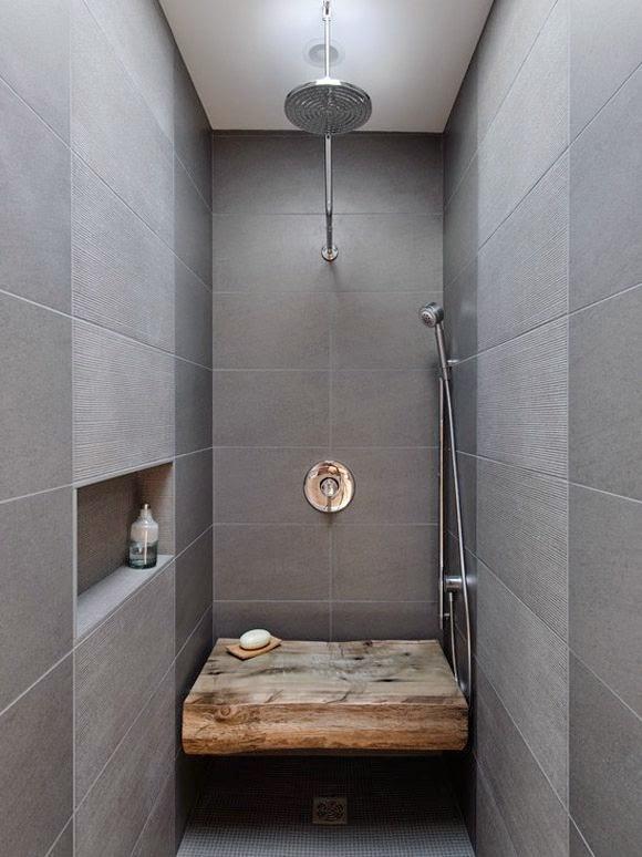 Banheiro pequeno? Estreito? Algumas ideias ~ ARQUITETANDO IDEIAS -> Banheiro Comprido E Estreito Com Banheira