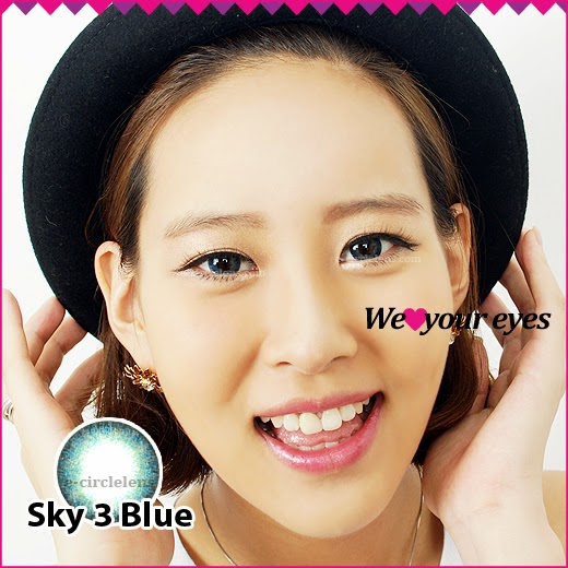 Blue Color Contacts, Blue-colored Contacts, Blue Color Lenses