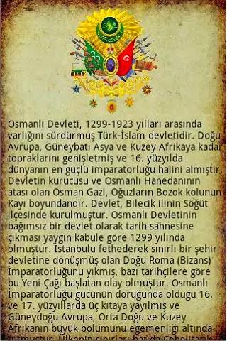 Android Osmanlı İmparatorluğu Apk resimi