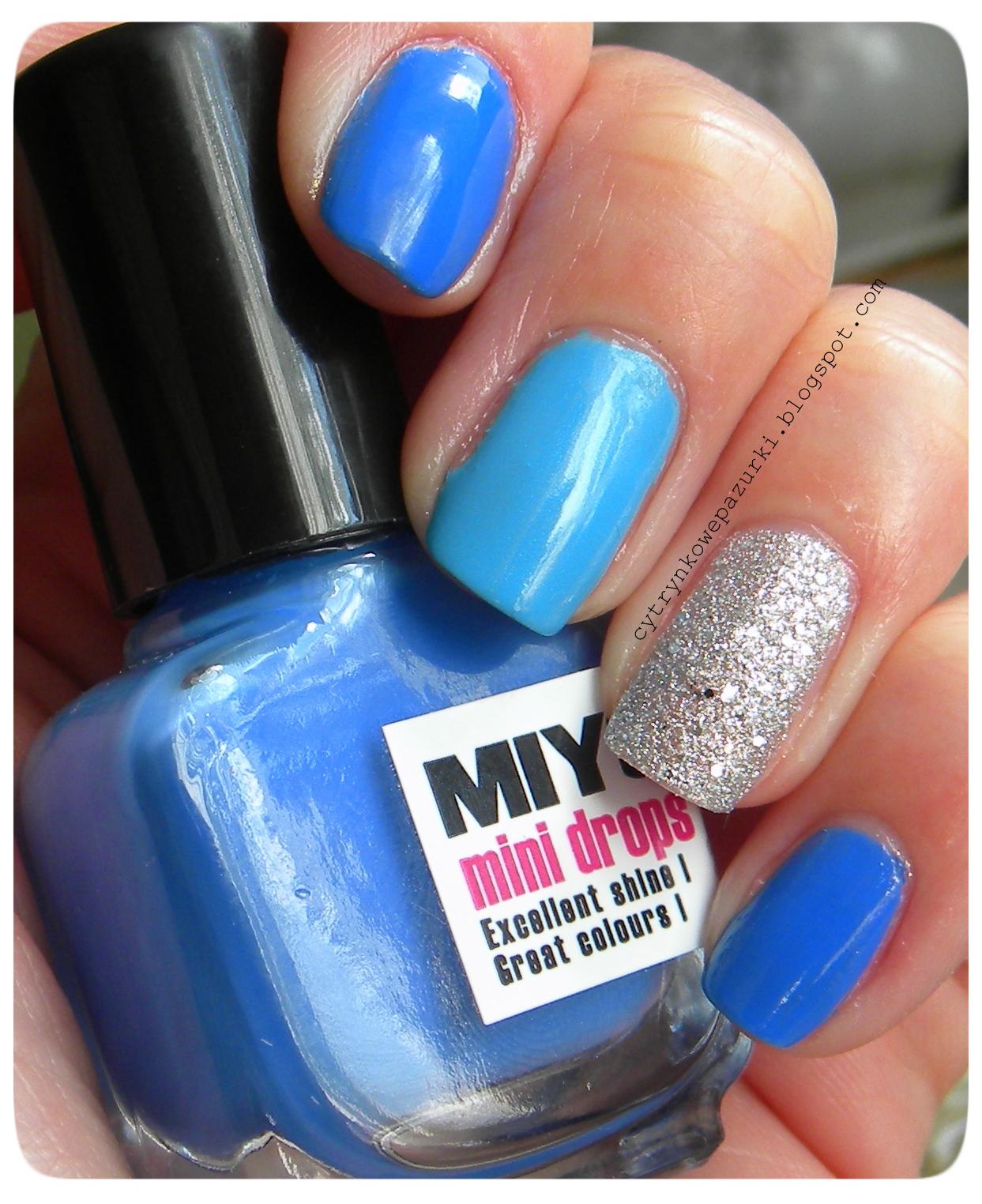 niebieski mix
