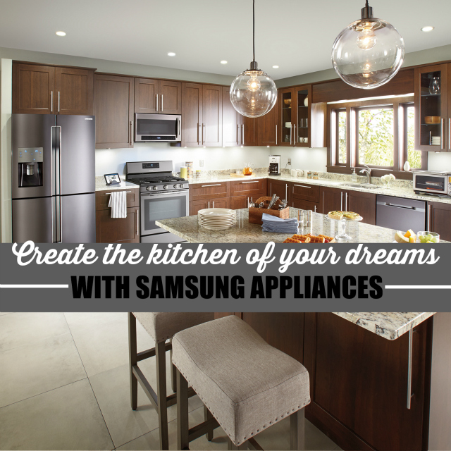 Create The Kitchen Of Your Dreams With Innovative New Appliances From Samsung #HeresToHome One Savvy Mom onesavvymom blog nyc
