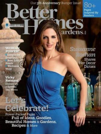 Sussanne Roshan on Better Homes And Gardens - March 2012 - Sussanne Roshan on Better Homes And Gardens - March 2012