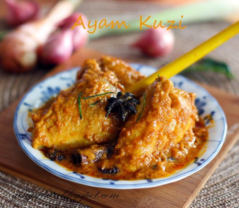 Ayam Kuzi / Kelantan Style Chicken Curry 吉兰丹式咖喱鸡