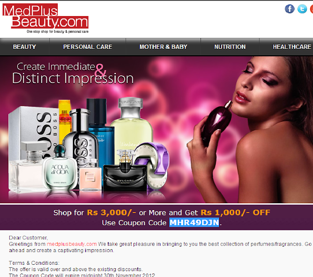 Get Flat Rs 1000 OFF on Medplusbeauty