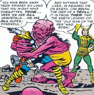 Avengers #1, Thor vs a troll