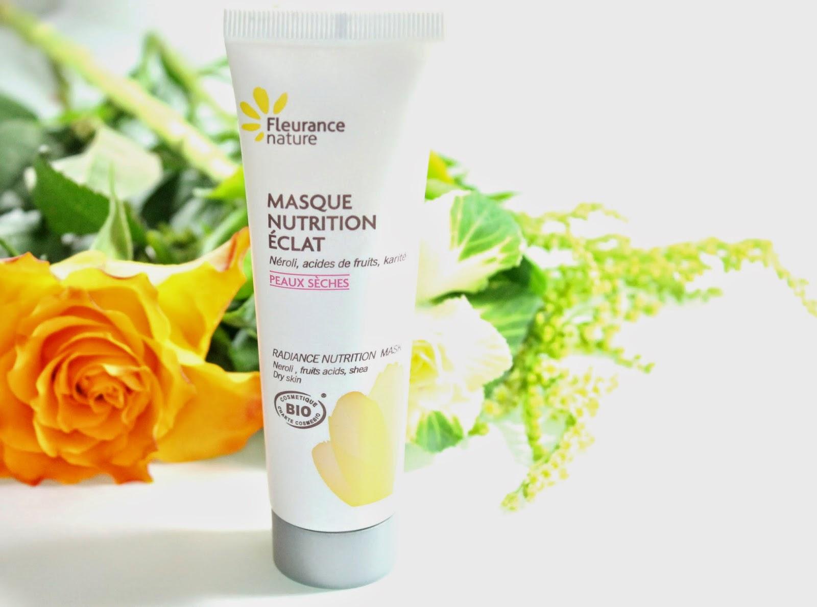 Beaut brune masque nutrition eclat fleurance nature for Fleurance nature