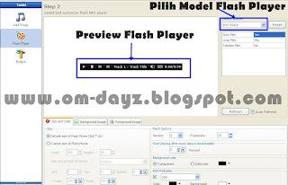 Cara Membuat Flash Music Player Dengan Mudah