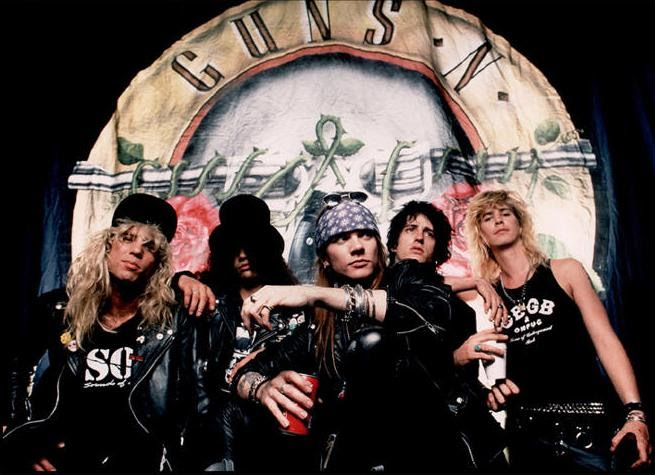 Guns N' Roses Welcome To The Jungle / Nightrain