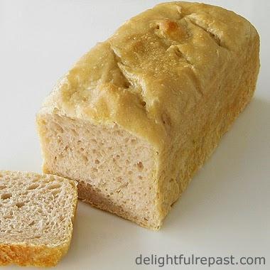 Sourdough Loaf Sliced / www.delightfulrepast.com