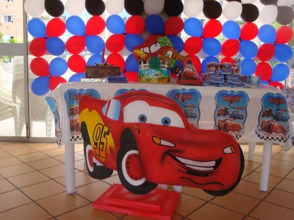 Decoracion Infantil De Cars ~ Decoracion Para Fiestas Infantiles De Cars