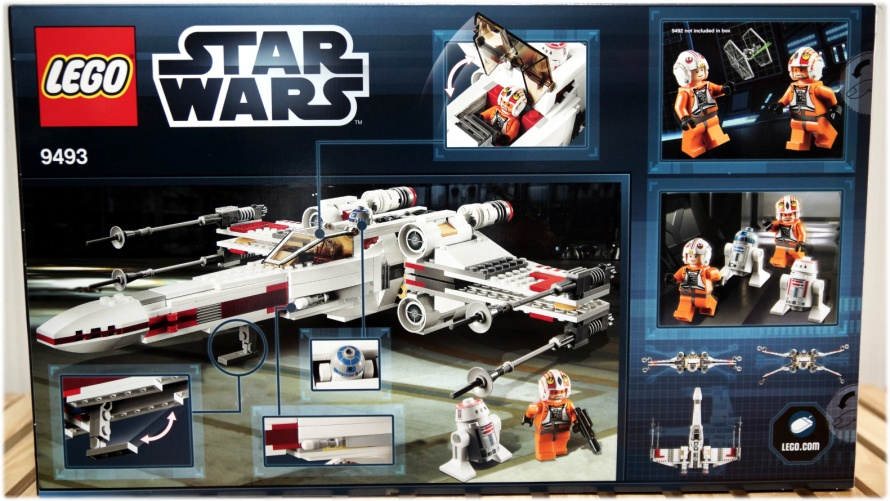 lego star wars x wing 9493 instructions