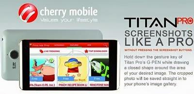 Cherry Mobile Titan PRO,