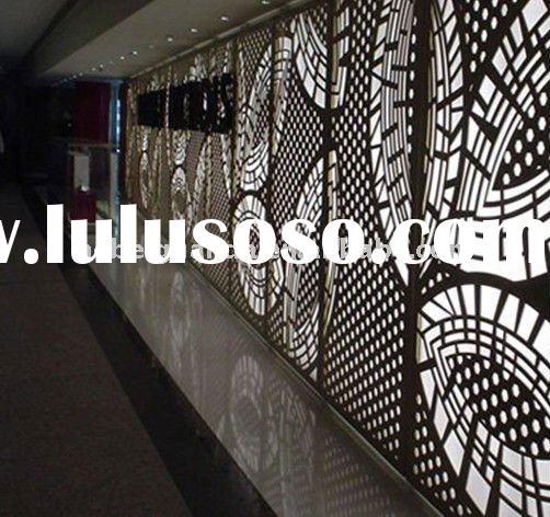 Metal Architectural Screen Panels : Decorative metal sheets home depot