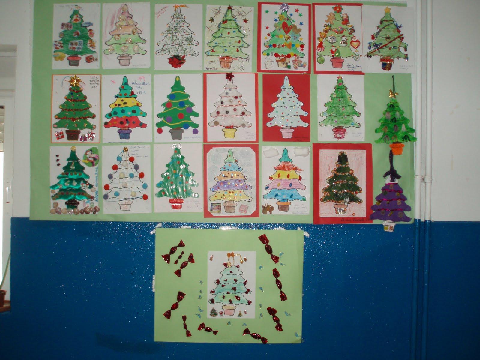 Arias montano infantil decoraci n con rboles de navidad - Decoracion navidad infantil ...