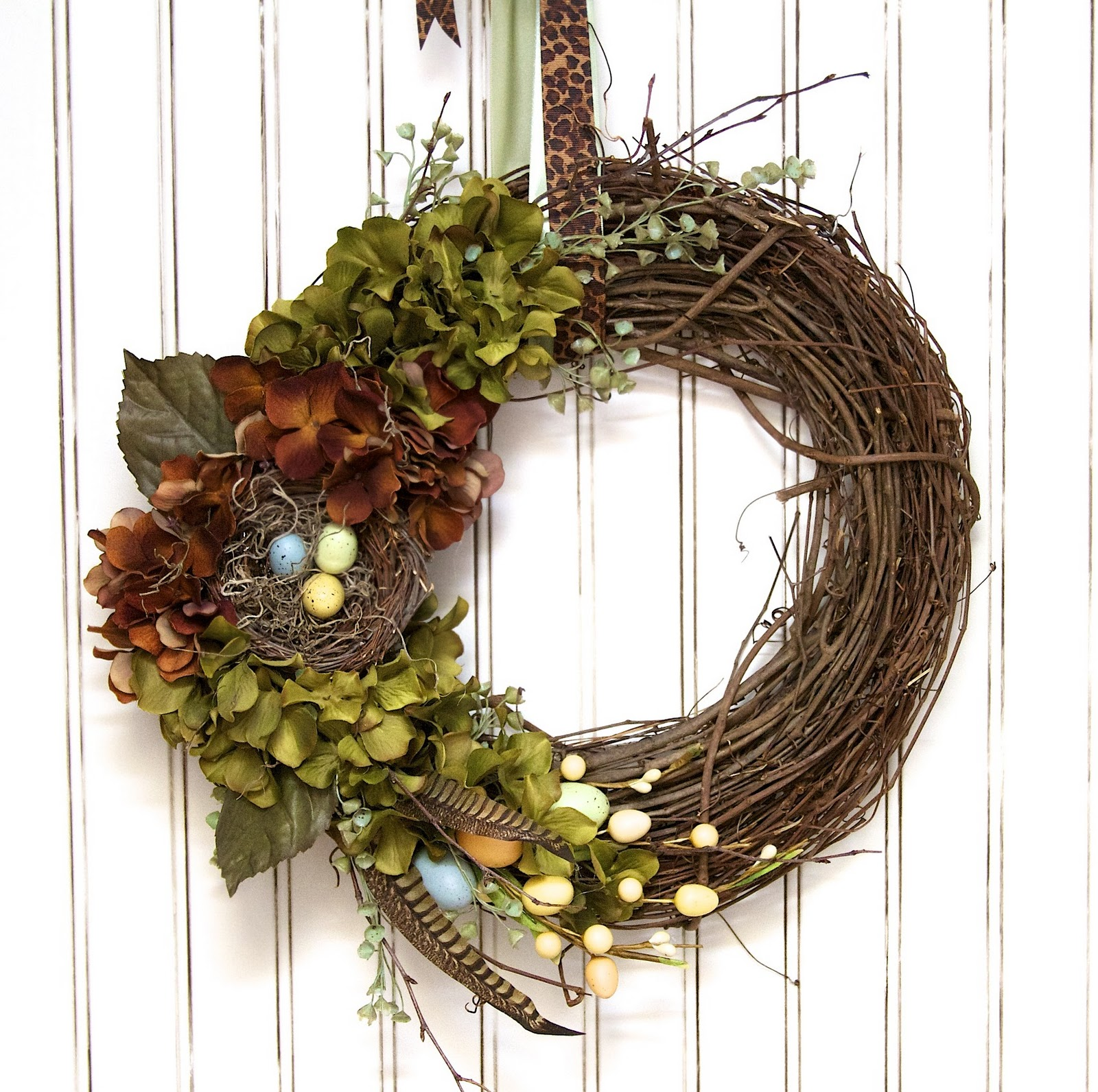 Love Laughter Decor Spring Wreath