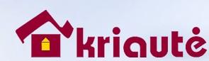 kriautė logo