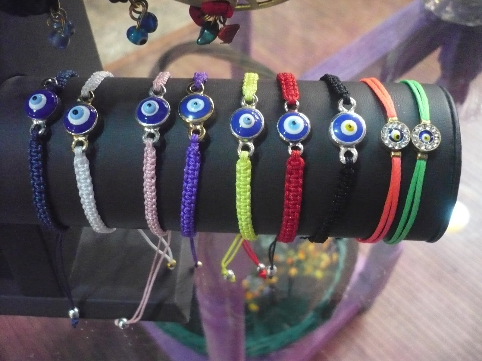 Imagenes de pulseras de ojos turcos