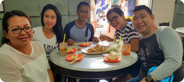 Sarapan di Chung Wah