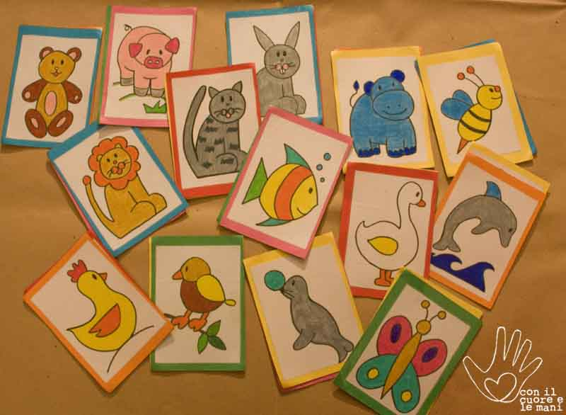 Con il cuore e le mani memory fai da voi for Memory da stampare per bambini