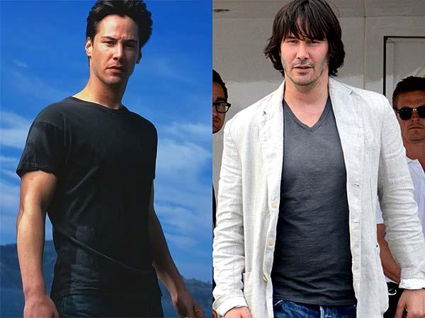 基努李維變大叔 Keanu Reeves Aging Process