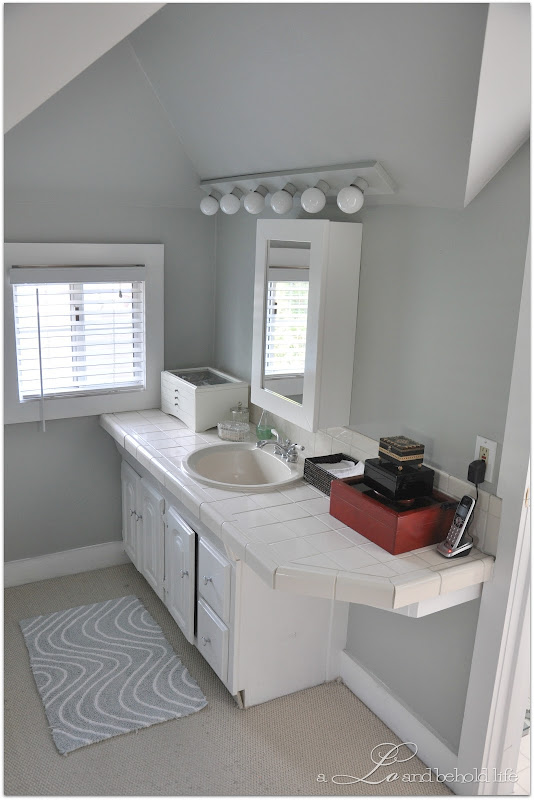 sink vanity, shower bench and frameless shower doors in my future title=