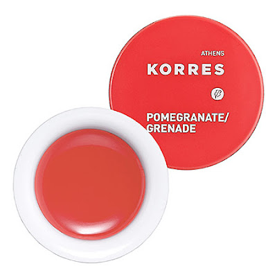 Korres, Korres Lip Butter, Pomegranate, Quince, Wild Rose, Guava, lip balm, lips, lipstick, lipgloss, lip gloss