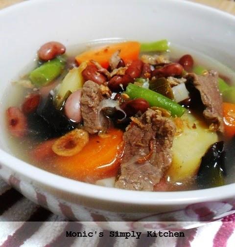cara membuat sup kacang merah