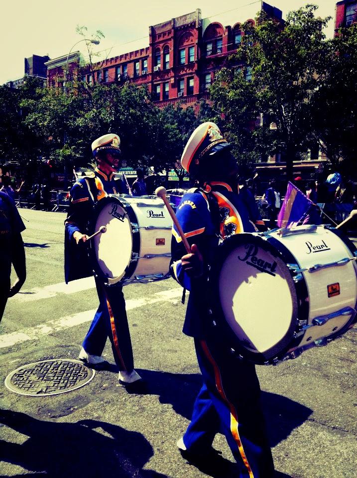 harlem parade high school band