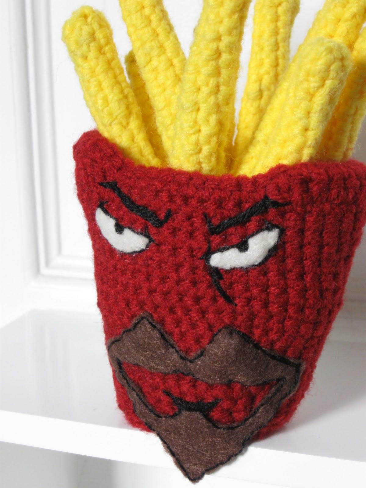 Mostly Nerdy Crochet: Frylock with Free Pattern!