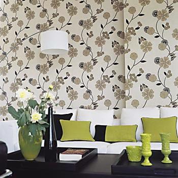 Papel pintado salón