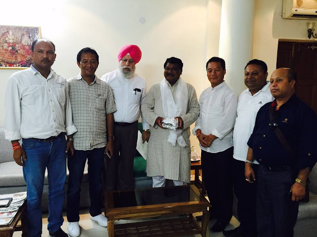 GTA delegation met Tribal Affairs Minister for inclusion of 11 Gorkha communities in ST list