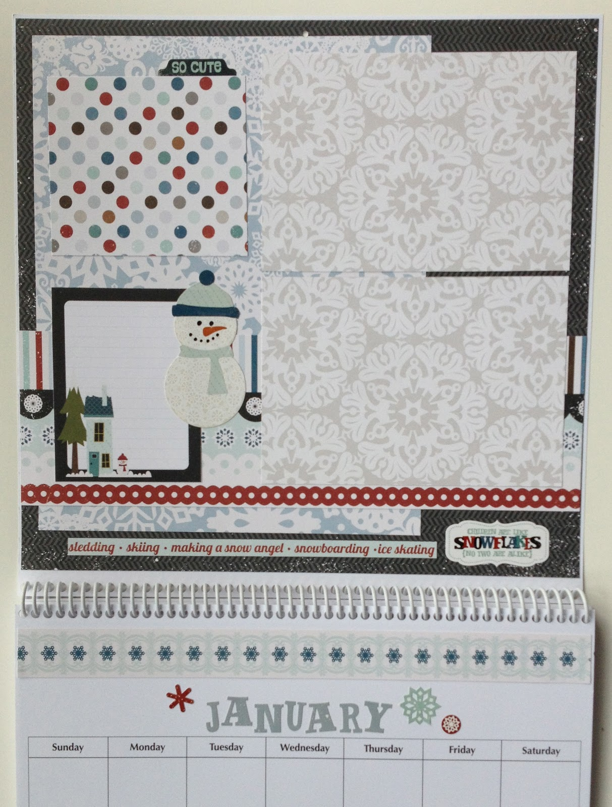 January scrapbook ideas - Monthly Themes Can Be Changed If One Or More Suggested Ideas Are Not Appropriate Calendar Layouts Will Differ From