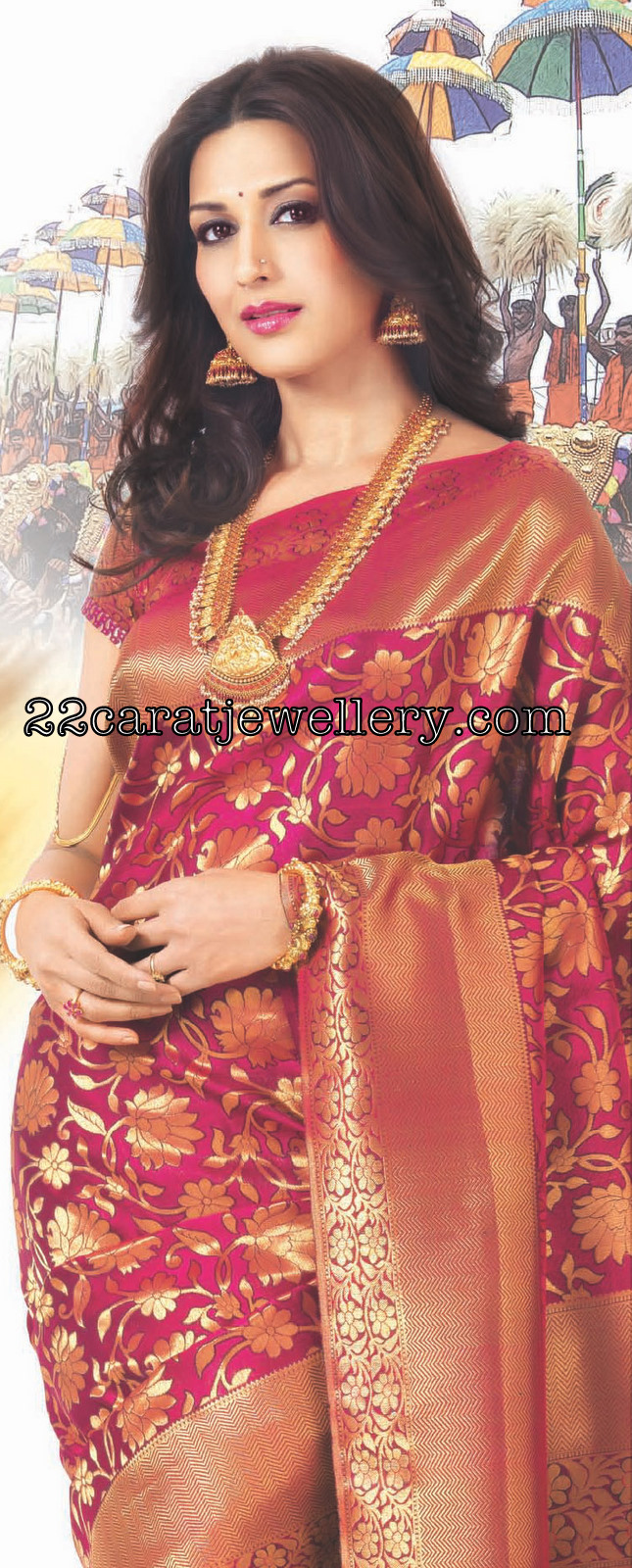 Sonali Bendre Nakshi Jewellery Kalyana Kanchi Ad