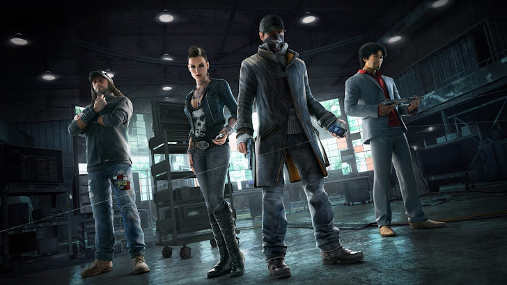Watch Dogs Game Characters