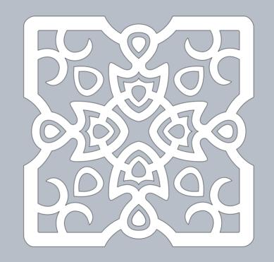 tile free paper cutting patterns