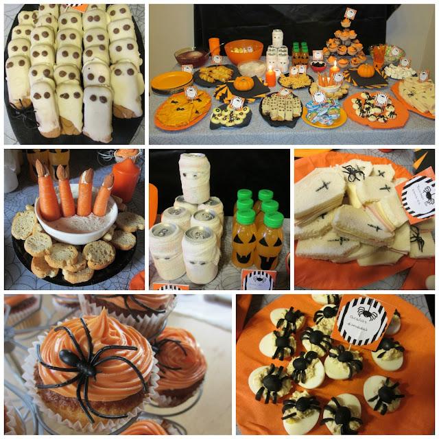 Halloween recetas de miedo ii elenarte for Decoracion fiesta halloween