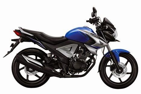 Pilihan warna New Honda Megapro FI 2014 . .