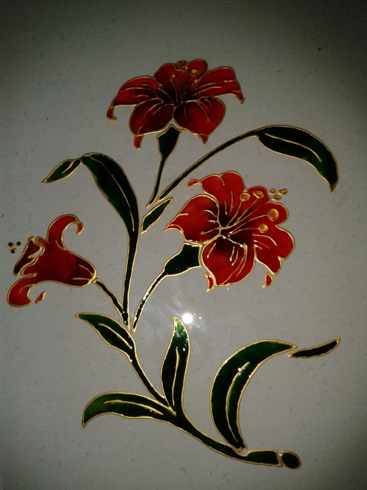Peindre tableau sur verre tape par tape peinture sur verre et porcelaine - Peindre sur verre 100 modeles originaux ...
