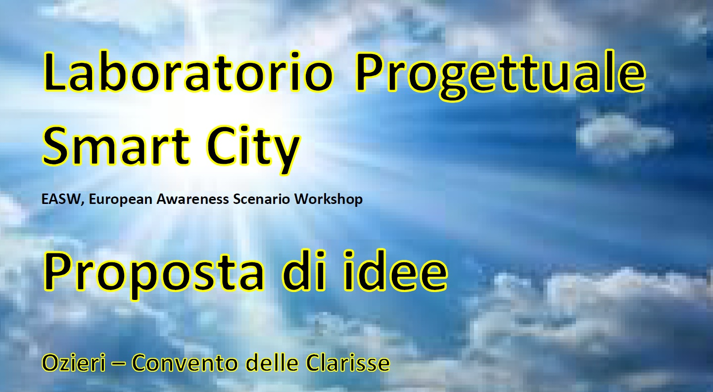 CONSULTA le slide del laboratorio Smart City