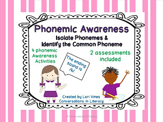 isolate the phoneme and identify the common phoneme