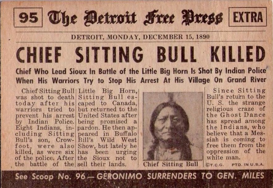 Chief Sitting Bull Quotes Quotesgram