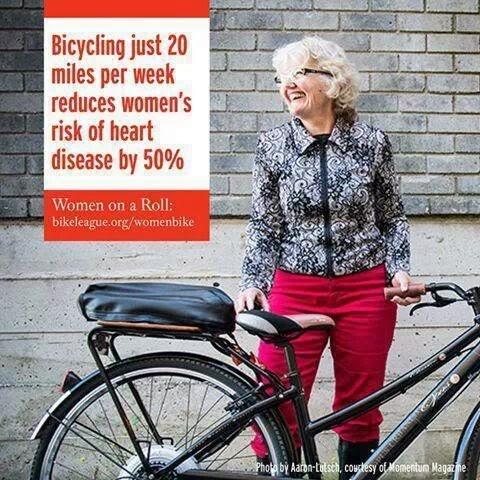 ...Usa la bici...