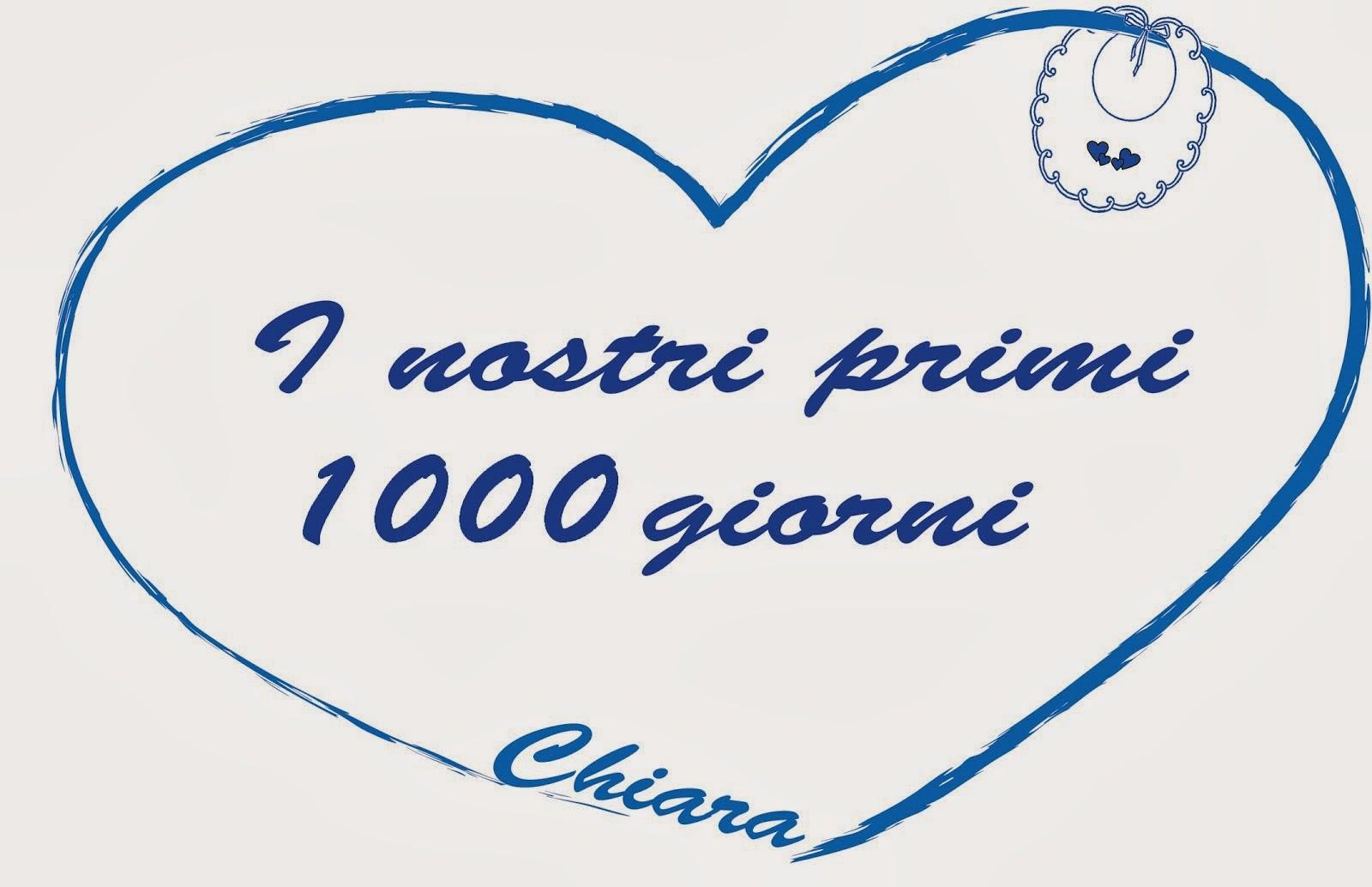 I nostri primi 1000 giorni