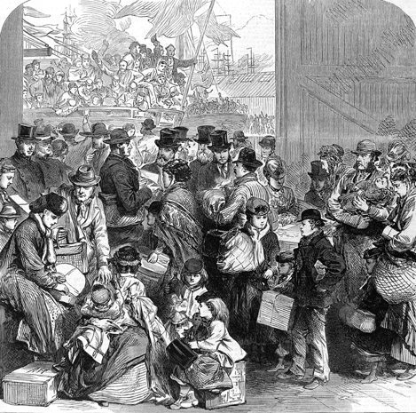 a discussion on the struggles in the british labor brought by the industrial revolution The labor union movement in america as aspects of the alleged communist revolution from which the anti-labor employers brought industrial.