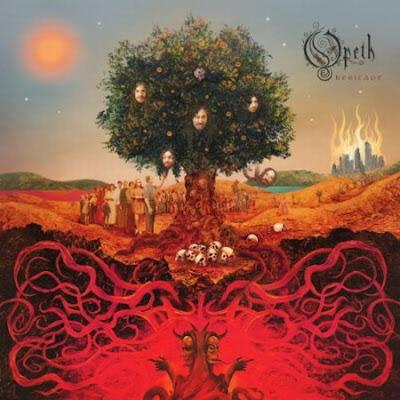 Opeth - Face In The Snow Lyrics