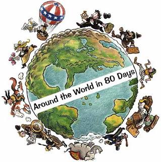 El Blog Encantado Proyecto La Vuelta Al Mundo En 80 Dias