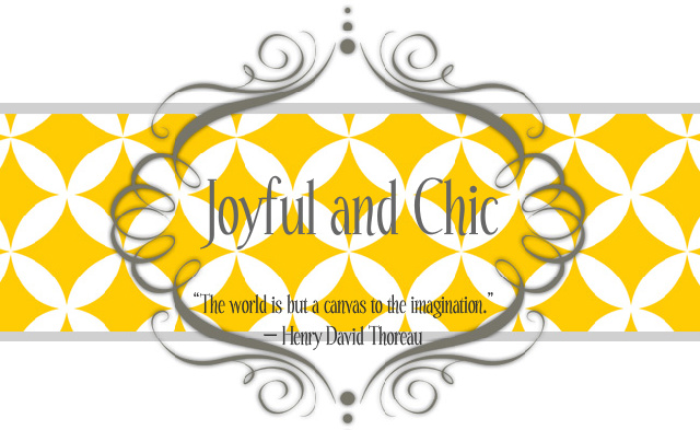 Joyful and Chic
