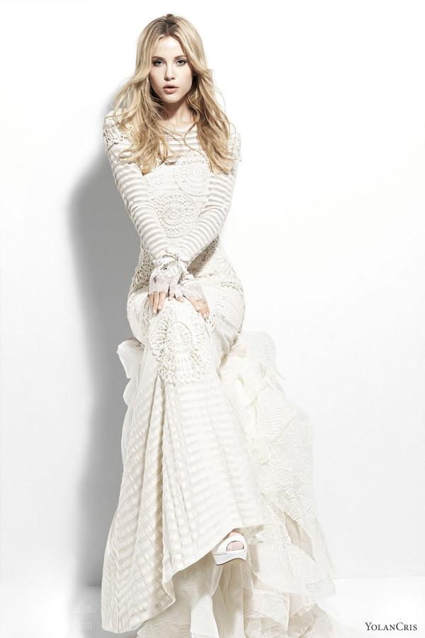 YolanCris 2013 Chelsea Girl wedding dresses