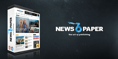 Download Newspaper v6.3 Responsive WordPress News Magazine
